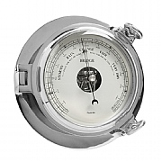 "Chrome ""Bridge"" Barometer"