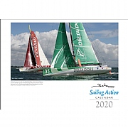 Beken of Cowes 2020 Sailing Action Calendar in Landscape Style