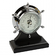 Chrome Neptune Barometer/Plinth