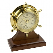 Brass Neptune Clock/Plinth