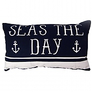 Rectangular 'Seas The Day' Cushion