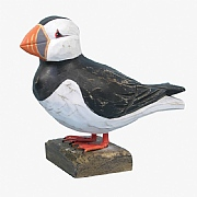 8in. Wooden Puffin
