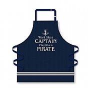 Apron 'Work Like a Captain'
