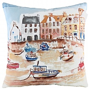 Harbour Scene Cushion