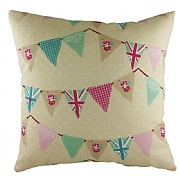 Cushion with Bunting