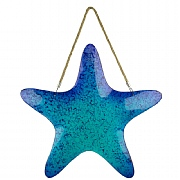 Glass Starfish Hanging Decor