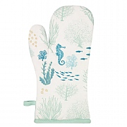 Coral Oven Glove