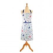 Nautical Apron with Front Pocket