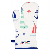 Nautical Oven Glove