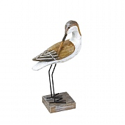 Wooden Seabird, 13.5in.
