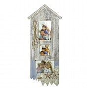 Wooden Beach Hut Photo Frame