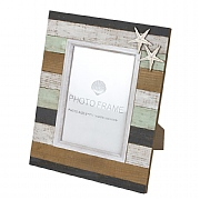 Wooden Plank-style Photo Frame