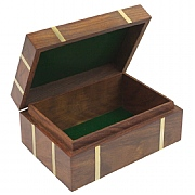 Naval-style Box with Brass Banding
