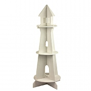 Lighthouse-shaped Display Stand