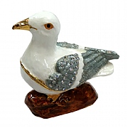 Seagull Jewelled Box