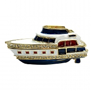 Motor Cruiser Jewelled Box