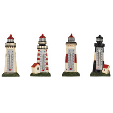 Lighthouse Thermometer Magnet