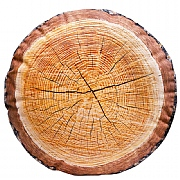 Wood Slice Cushion