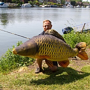 Monster Carp Fish Cushion