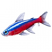 Neon Tetra Fish Cushion