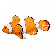Mini Clown Fish Cushion, 14in.