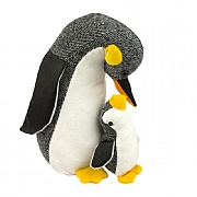 Penguin and Chick Doorstop