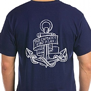Anchor-style 'Captain' Word is Law' T-Shirt