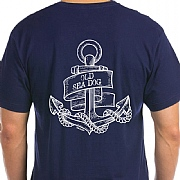 Anchor-style 'Old Sea Dog' T-Shirt