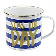 Seas The Day Tin Mug