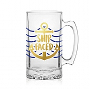 Ship Faced Tankard