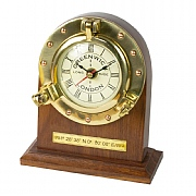 Greenwich Where Time Begins Desk Clock