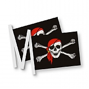Pirate Bunting with 20 Flags