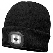 Double LED Beanie