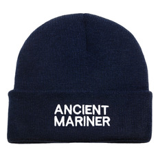 Embroidered Knitted Beanie Hats, Ancient Mariner