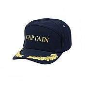 Yachting Cap 'Captain' with Gold Leaf