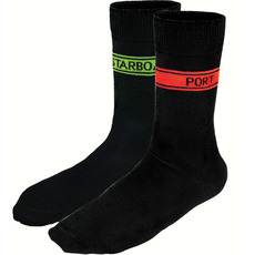 Crew Socks with Port & Starboard