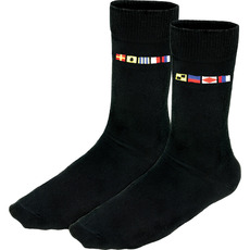 Crew Socks with Left/Right Code Flags