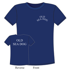 100% Cotton Crew 'Old Sea Dog' T-Shirt