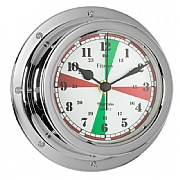 Chrome 'Fitzroy' Radio Silence Clock