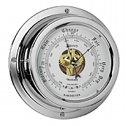 Chrome 'Fitzroy' Barometer