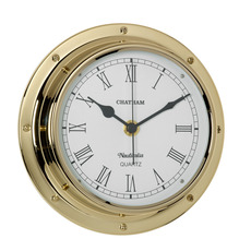 Chatham Tarnish-free Clock with QuickFix System