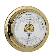 Chatham Tarnish-free Barometer with QuickFix System