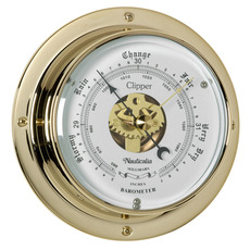 Clipper Tarnish-free Barometer with QuickFix System