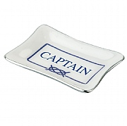 Blue 'Captain' Coin Dish