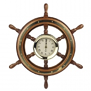 Ship's Wheel Clock