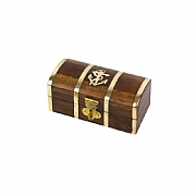 4in. Treasure Chest with Anchor Motif