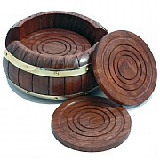 Barrel-style Coasters