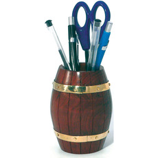 Barrel-style Pen Holder