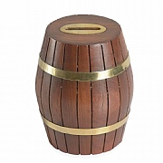 4in. Crew Barrel-style Moneybox