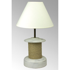 Nautical Capstan Lamp with Shade